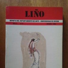 Libros de segunda mano: LIÑO AÑO V NUMERO 5 REVISTA DEPARTAMENTO DE ARTE UNIVERSIDAD DE OVIEDO 1985. Lote 218848031