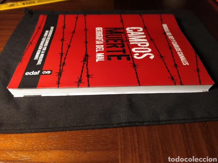 Libros de segunda mano: Campos de muerte. Geografía del mal. Miguel del Rey y Carlos Canales - Foto 2 - 218848672