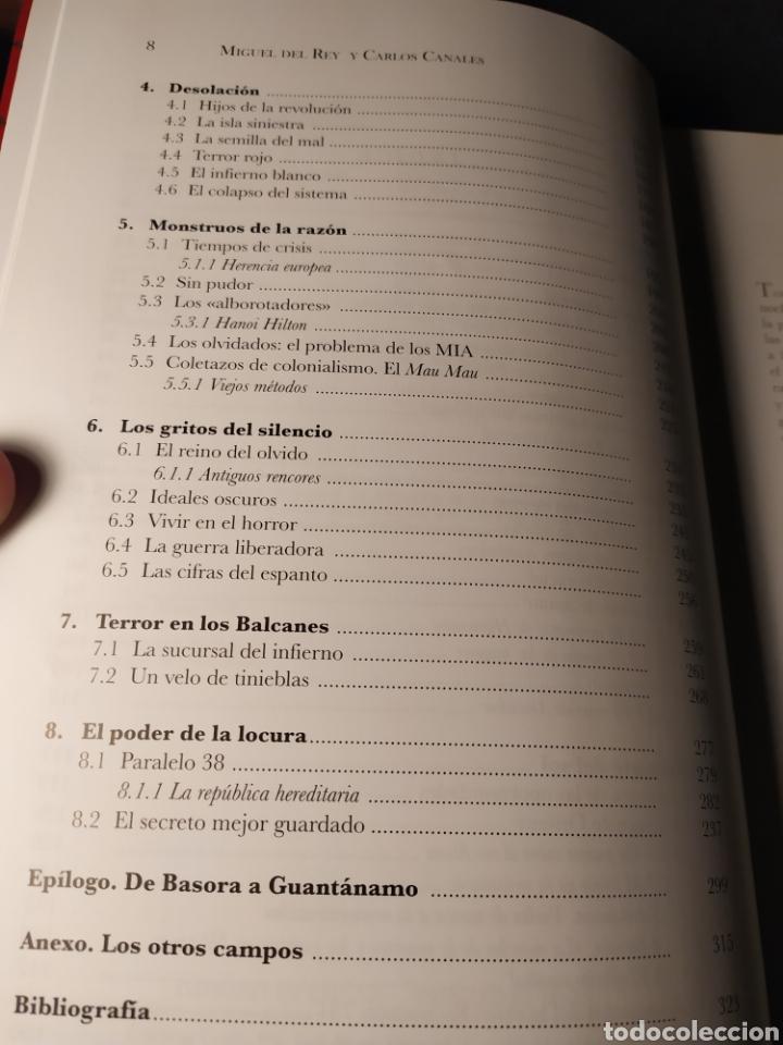 Libros de segunda mano: Campos de muerte. Geografía del mal. Miguel del Rey y Carlos Canales - Foto 5 - 218848672