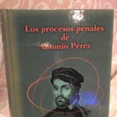 Libros de segunda mano: LOS PROCESOS PENALES DE ANTONIO PÉREZ VÍCTOR FAIREN DEDICADO Y FIRMADO. Lote 218850753