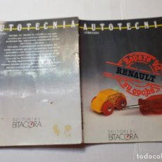 Libros de segunda mano: AUTOTECNIA COLECCION REPARE SU RENAULT 7 EDITORIAL BITACORA 1988. Lote 218867235