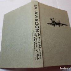 Libros de segunda mano: LA AVIACION DE HOY Y DEL MAÑANA-MARGARET O.HYDE DE RAMON SOPENA 1967. Lote 218867912