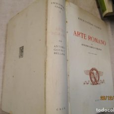 Libros de segunda mano: ENCICLOPEDIA CLASICA I. ARTE ROMANO. GARCIA BELLIDO, ANTONIO - EDI CSIC 1972 836 PAG 30X21CM + INFO. Lote 218887831