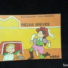 Libros de segunda mano: PIEZAS BREVES - EDEBÉ - AÑOS 80. Lote 218908183