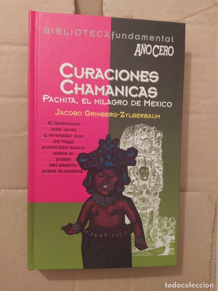CURACIONES CHAMANICAS JACOBO GRINBERG BIBLIOTECA FUNDAMENTAL AÑO CERO ENVIO CERTIFICADO INCLUIDO (Libros de Segunda Mano - Parapsicología y Esoterismo - Otros)