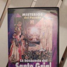 Libros de segunda mano: DVD MISTERIOS DEL PASADO LA BUSQUEDA DEL SANTO GRIAL ENVIO CERTIFICAO INCLUIDO. Lote 218943948