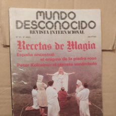 Libros de segunda mano: MUNDO DESCONOCIDO 61 6º AÑO ENVIO CERTIFICADO INCLUIDO. Lote 218946025