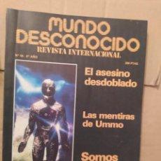 Libros de segunda mano: MUNDO DESCONOCIDO 64 6º AÑO ENVIO CERTIFICADO INCLUIDO. Lote 218946035