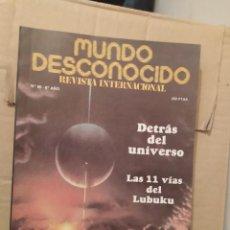 Libros de segunda mano: MUNDO DESCONOCIDO 66 6º AÑO ENVIO CERTIFICADO INCLUIDO. Lote 218946050