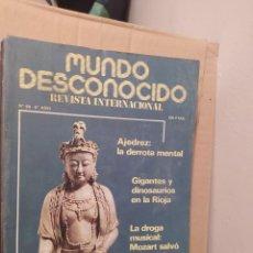 Libros de segunda mano: MUNDO DESCONOCIDO 68 6º AÑO ENVIO CERTIFICADO INCLUIDO. Lote 218946063