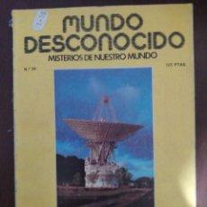Libros de segunda mano: MUNDO DESCONOCIDO 36 ENVIO CERTIFICADO INCLUIDO. Lote 218947103