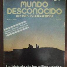 Libros de segunda mano: MUNDO DESCONOCIDO 51 5º AÑO ENVIO CERTIFICADO INCLUIDO. Lote 218947112