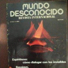 Libros de segunda mano: MUNDO DESCONOCIDO 60 5º AÑO ENVIO CERTIFICADO INCLUIDO. Lote 218947118