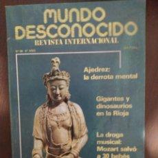 Libros de segunda mano: MUNDO DESCONOCIDO 68 6º AÑO ENVIO CERTIFICADO INCLUIDO. Lote 218947126