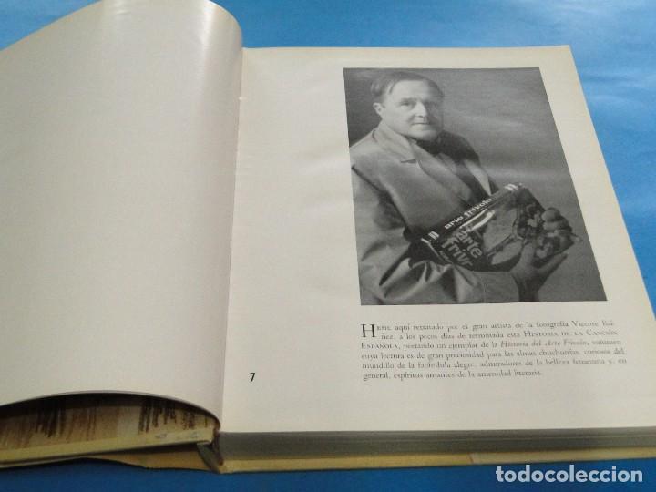 Libros de segunda mano: HISTORIA DE LA CANCIÓN ESPAÑOLA.- ALVARO RETAMA - Foto 6 - 218963087