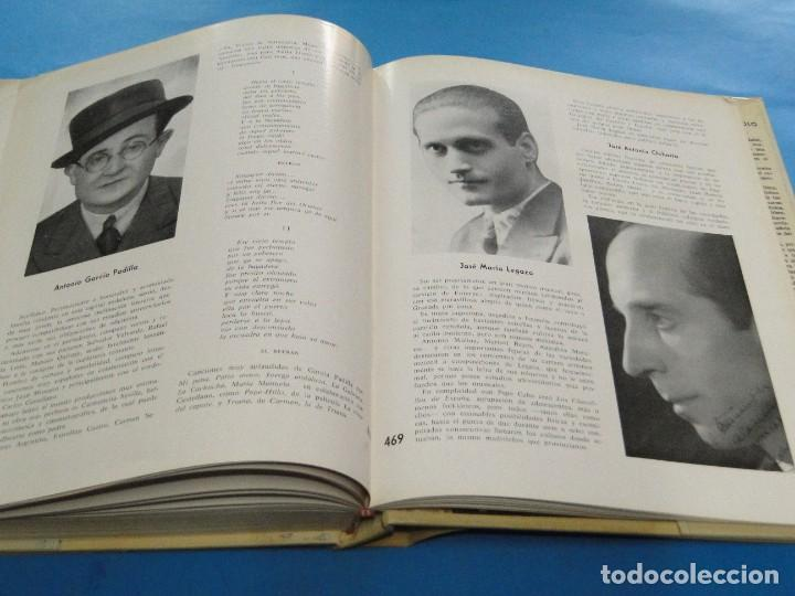 Libros de segunda mano: HISTORIA DE LA CANCIÓN ESPAÑOLA.- ALVARO RETAMA - Foto 18 - 218963087