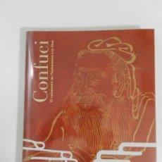 Libros de segunda mano: CONFUCI. EL NAIXEMENT DE L´HUMANISME A LA XINA - LIBRO CATÁLOGO ARTE HISTORIA FOTOGRAFÍA. Lote 262870920