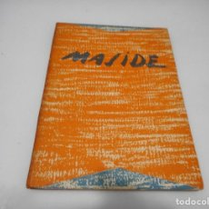 Libros de segunda mano: ÁLVARO CUNQUEIRO, RICARDO GARCÍA SUAREZ CARLOS MASIDE Q2953T. Lote 219065317