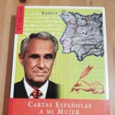 Libros de segunda mano: CARTAS ESPAÑOLAS A MI MUJER (JOSÉ MARÍA CARRASCAL). Lote 219074112