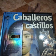 Libros de segunda mano: CABALLEROS Y CASTILLO INSIDERS LAROUSSE. Lote 219124137