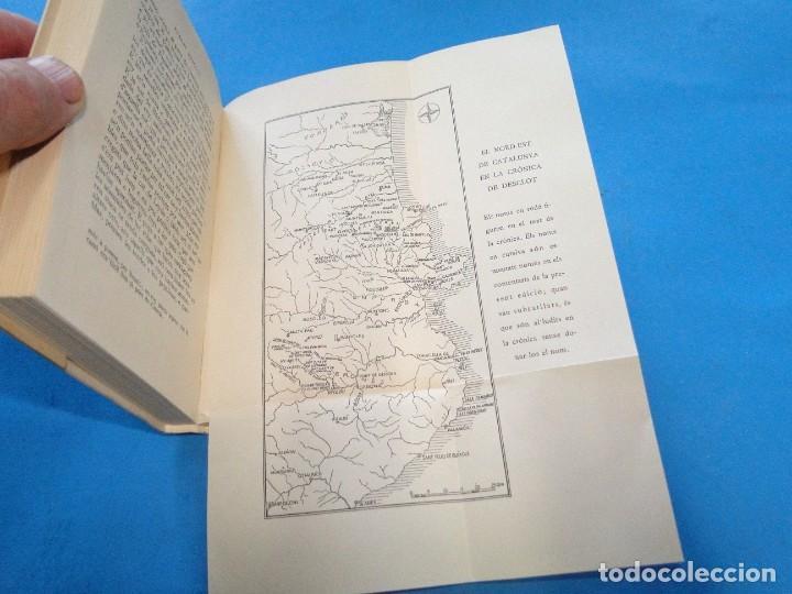 Libros de segunda mano: CRÒNICA.- BERNAT DESCLOT. 5 VOL OBRA COMPLETA - Foto 2 - 219191320