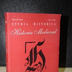 Libros de segunda mano: STUDIA HISTORICA. VOL. 14, 1996. HISTORIA MEDIEVAL.. Lote 219260126
