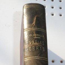 Libros de segunda mano: NUEVAS MEMORIAS DE UN AFRANCESADO. JOSÉ ECHEGARAY. 2 OBRAS EN 1 VOLUMEN. A. MARTÍNEZ OLMEDILLA. Lote 219339797
