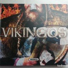 Libros de segunda mano: VIKINGOS, PHILIP WILKINSON, ED. SUSAETA, TAPAS DURAS Y MUY ILUSTRADO, TROQUELADOS. Lote 219340631