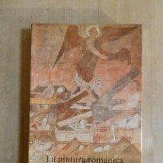 Libros de segunda mano: LIBRO - LA PINTURA ROMANICA EN ESPAÑA JOAN SUREDA ALIANZA FORMA Nº 47 1985 - TEORIA ARTE,. Lote 219414730