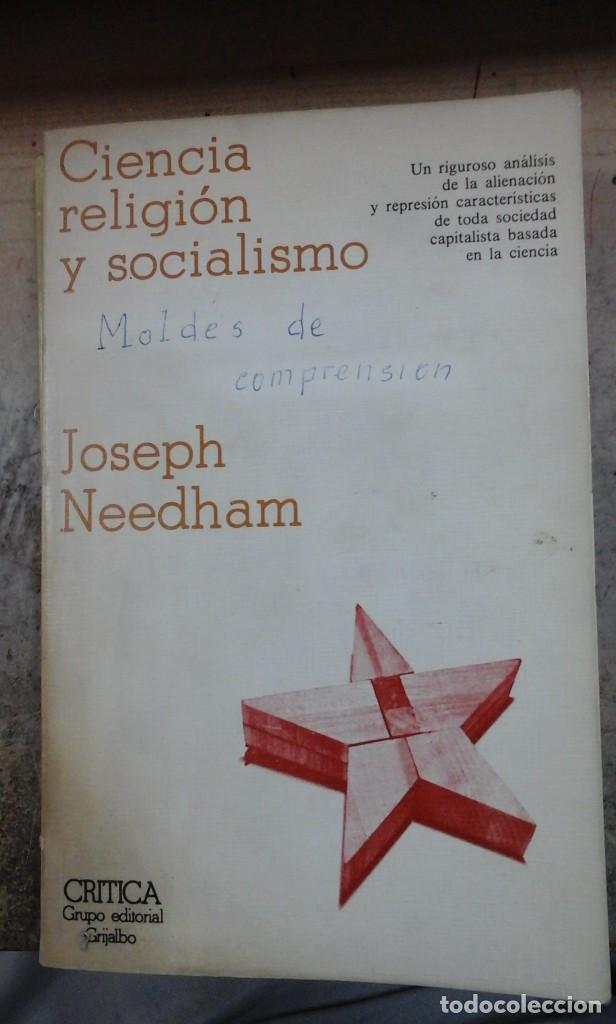 CIENCIA, RELIGIÓN Y SOCIALISMO (BARCELONA, 1978) (Libros de Segunda Mano - Pensamiento - Otros)