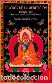 TESOROS DE LA MEDITACIÓN I GUESHE TAMDING GYATSO (Libros de Segunda Mano - Pensamiento - Otros)