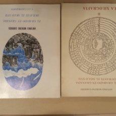 Libros de segunda mano: EL GRABADO EN GRANADA DURANTE EL SIGLO XVII DOS TOMOS ANTONIO MORENO GARRIDO. Lote 219542206