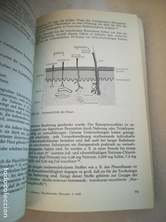 Libros de segunda mano: PHYSIKALISCHE THERAPIE. HELMUT GILLMANN. 1968. GEORG THIEME VERLAG. 217 PAGINAS. EN ALEMAN - Foto 4 - 219575116