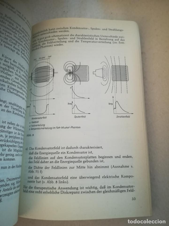 Libros de segunda mano: PHYSIKALISCHE THERAPIE. HELMUT GILLMANN. 1968. GEORG THIEME VERLAG. 217 PAGINAS. EN ALEMAN - Foto 6 - 219575116