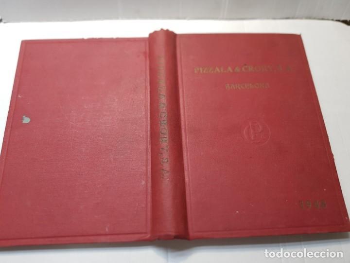LIBRO CATALOGO GENERAL CALDERERIA 1948 -PIZZALA Y CRORY 1948 (Libros de Segunda Mano - Ciencias, Manuales y Oficios - Otros)
