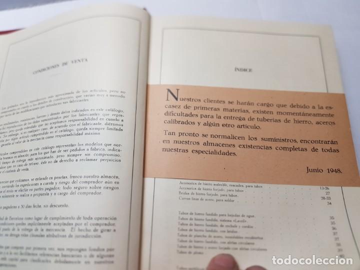 Libros de segunda mano: Libro Catalogo General Caldereria 1948 -Pizzala y Crory 1948 - Foto 5 - 219576112