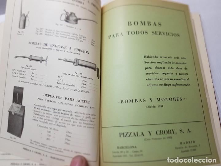 Libros de segunda mano: Libro Catalogo General Caldereria 1948 -Pizzala y Crory 1948 - Foto 8 - 219576112