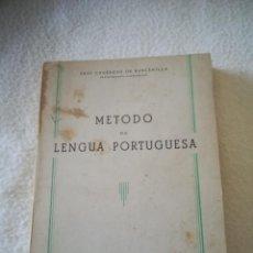 Libros de segunda mano: METODO DE LENGUA PORTUGUESA. FRAY GENEROSO DE BARCENILLA. 1952. MADRID. 266 PAG. RUSTICA. Lote 219656412