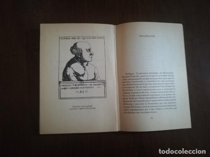 Libros de segunda mano: PARACELSO. DE LA ENFERMEDAD DE LAS MONTAÑAS Y DE OTRAS ENFERMEDADES SEMEJANTES, 1982. PAG. 98. - Foto 2 - 219696660