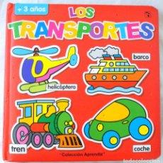 Libros de segunda mano: LIBRO LOS TRANSPORTES, COLECCION APRENDIZ, SALDAÑA, ISBN 84-9796-240-0. Lote 219853847
