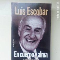 Libros de segunda mano: EN CUERPO Y ALMA. Lote 220072660