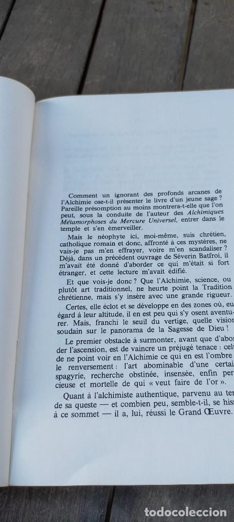 Libros de segunda mano: ALCHIMIQUES METAMORPHOSES DU MERCURE UNIVERSEL - FRANCES - SEVERIN BATFROI ZZ - Foto 6 - 220081150