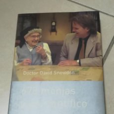 Libros de segunda mano: 678 MONJAS Y UN CIENTIFICO. DOCTOR DAVID SNOWDON. ED.PLANETA DIVULGACION. 1º ED. 2002. Lote 220142626