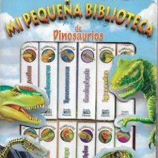 Libros de segunda mano: COLECCION COMPLETA MI PEQUEÑA BIBLIOTECA DE DINOSAURIOS 12 MINI LIBROS PERFECTO ESTADO. Lote 220255052