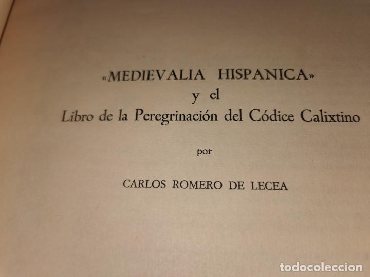 Libros de segunda mano: LIBRO DE LA PEREGRINACION DEL CODICE CALIXTINO - (JOYAS BIBLIOGRAFICAS ) - Foto 6 - 220399731