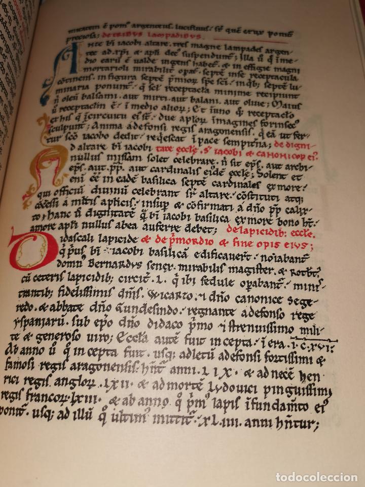 Libros de segunda mano: LIBRO DE LA PEREGRINACION DEL CODICE CALIXTINO - (JOYAS BIBLIOGRAFICAS ) - Foto 10 - 220399731