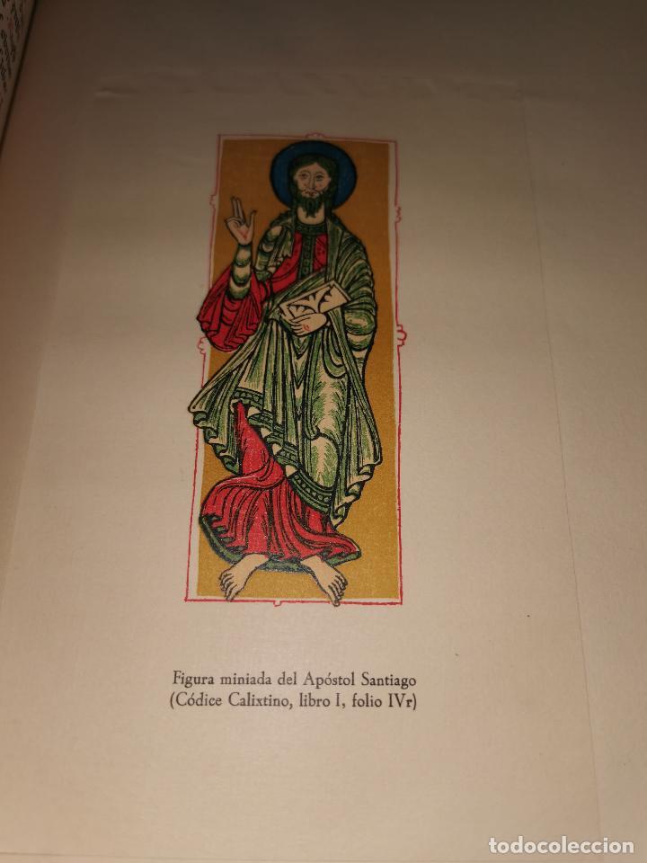 Libros de segunda mano: LIBRO DE LA PEREGRINACION DEL CODICE CALIXTINO - (JOYAS BIBLIOGRAFICAS ) - Foto 11 - 220399731