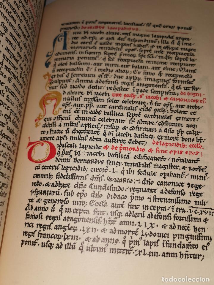 Libros de segunda mano: LIBRO DE LA PEREGRINACION DEL CODICE CALIXTINO - (JOYAS BIBLIOGRAFICAS ) - Foto 12 - 220399731