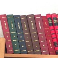 Libros de segunda mano: REVISTA KARMA 7 AÑOS COMPLETOS DESDE 1972 HASTA 1977, Y 1981. ENCUADERNADAS EN TAPAS. Lote 220584676