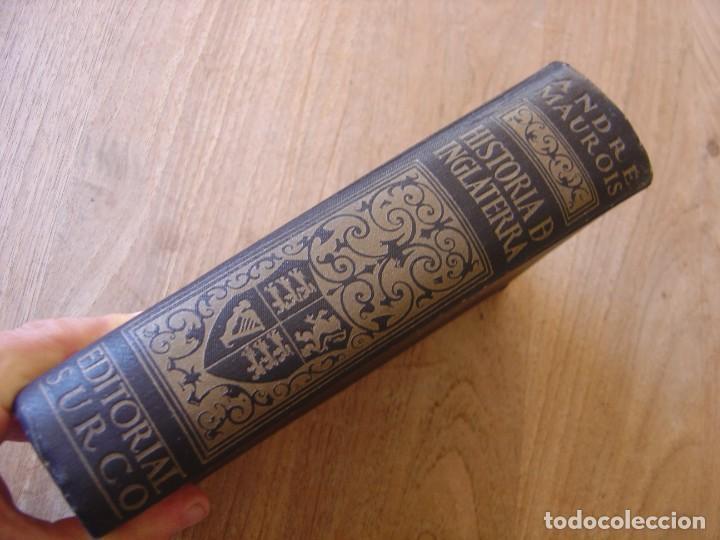 HISTORIA DE INGLATERRA. ANDRÉ MAUROIS. EDITORIAL SURCO. 1ª EDICIÓN 1943 (Libros de Segunda Mano - Historia - Otros)